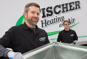 Fischer Heating and Air technicians