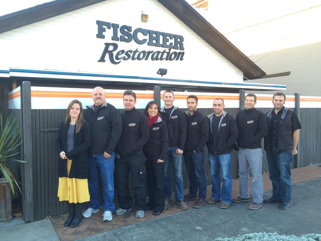 Fischer Restoration team