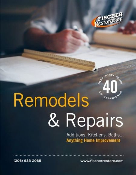Remodels and repairs by Fischer Restoration